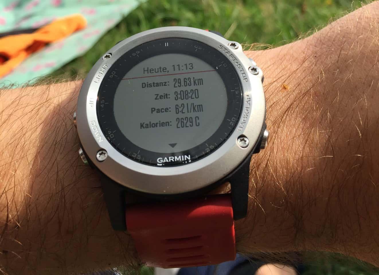 Fenix3: GPX oder TCX Track auf die Uhr kopieren