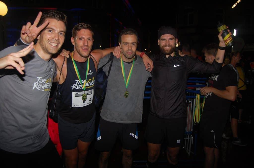 Tide Runners Hamburg beim Lichterlauf