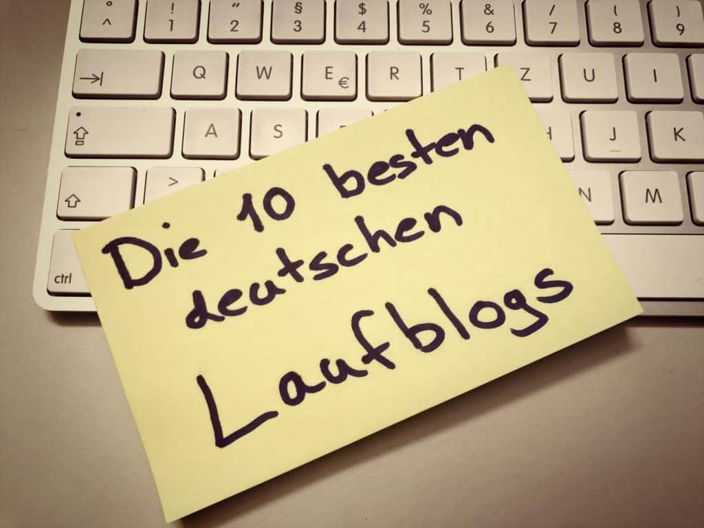Die 10 besten deutschen Laufblogs
