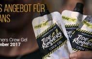 Tide Runners Crew Gel Gutschein • 13% exklusiv im Februar 2018