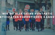 Wie du alle deine Runtastic-Aktivitäten in 5 Minuten exportieren kannst!