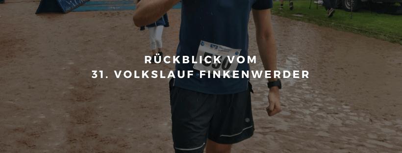 Rückblick zum Lauf in Finkenwerder - Überraschungen sind das Beste