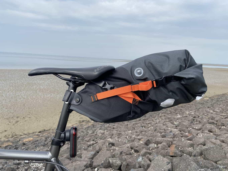 ORTLIEB Seat-Pack im Test: eine geeignete Tasche für Rennradtouren?