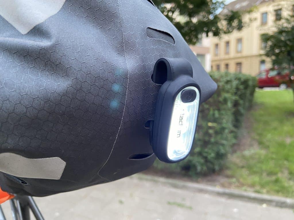 Ortlieb Seat-Pack mit Rücklicht